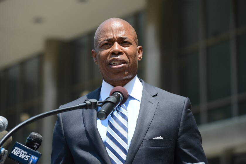 Brooklyn's borough president Eric Adams will call Monday on the NYPD to strip away rules that make it harder for retired cops with 9/11-related ailments to obtains disability pensions.