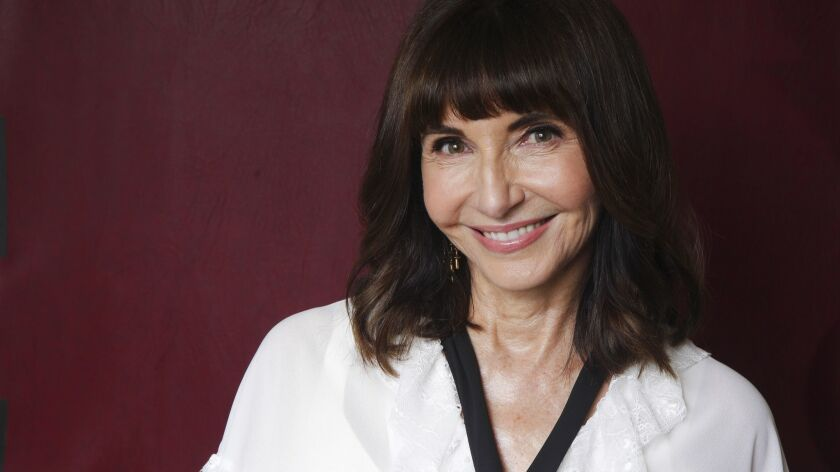 Photos for a profile on Mary Steenburgen. We'll be talking to her about her long career, the #MeToo