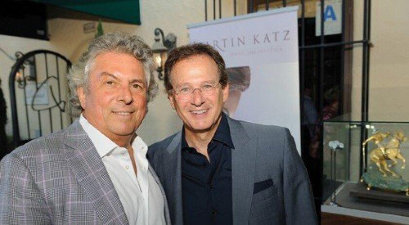 Bertrand Hug and Martin Katz (Photo: Jon Clark)