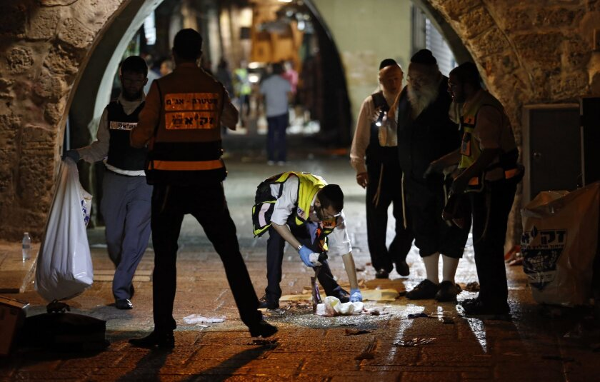 Palestinian attacks Jewish family in Jerusalem
