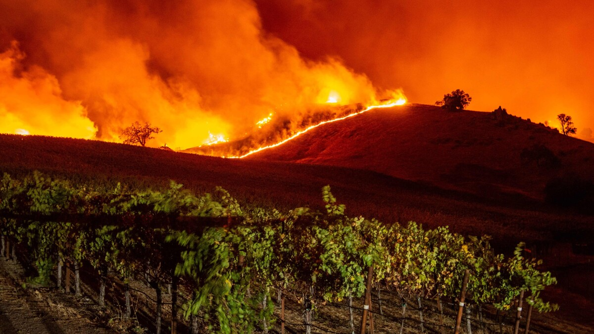 We mapped every wine country fire. They're larger and more destructive than ever