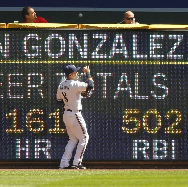 Padres Brewers 08/22/2010