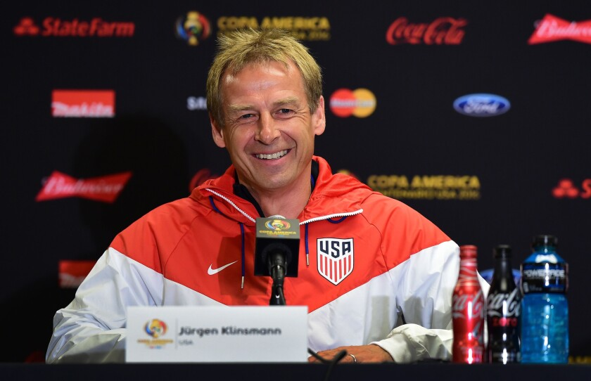 Klinsmann working to convince U.S. that Messi, Argentina are beatable