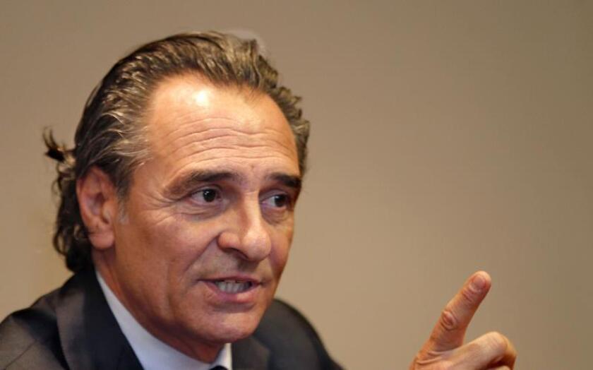 El italiano Cesare Prandelli. EFE/Archivo