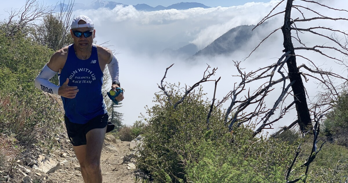 Bobcat fire personal to Jerry Garcia, a firefighter and ultra runner who knows landscape