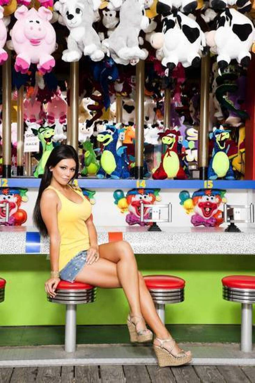 """Jenni """"JWoww"""" Farley says she's making better food choices."""