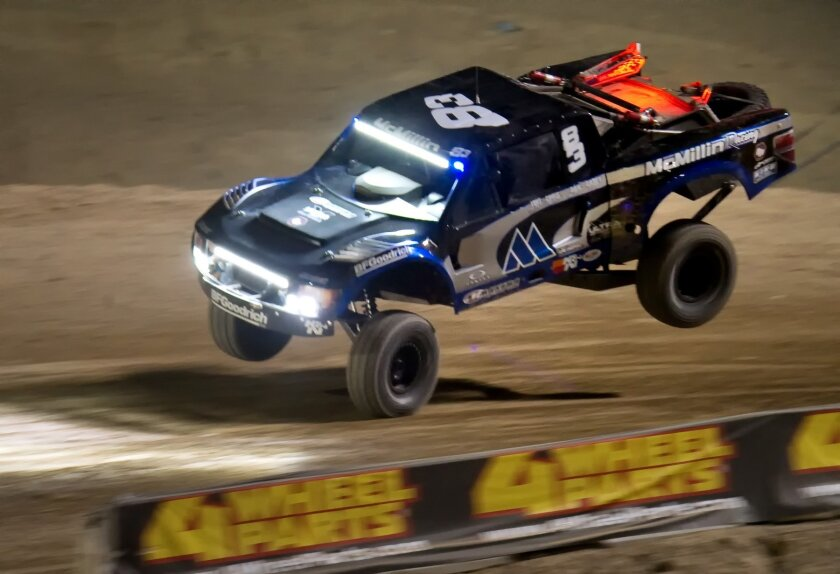 Luke McMilllin in SCORE Trophy Truck #83