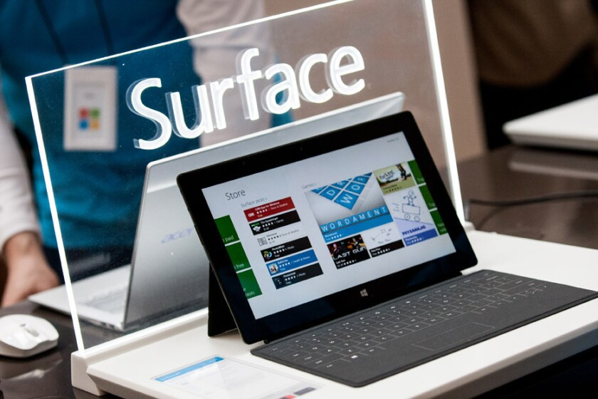 Microsoft lost nearly $1 billion on unsold Surface tablets
