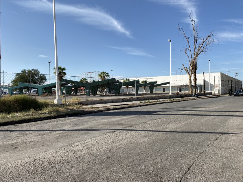 Mexicali proposed shelter site
