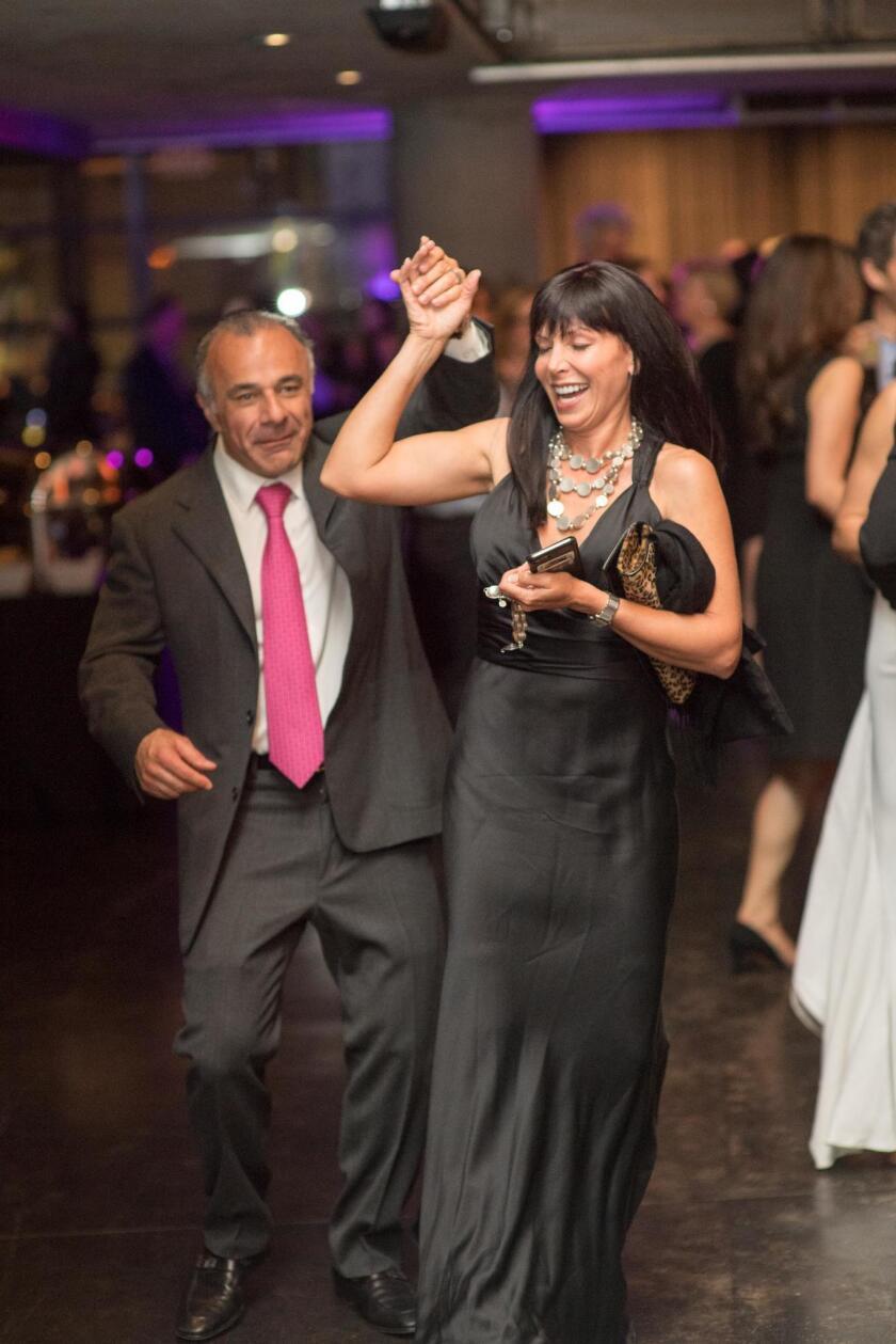 Sassan Alavi and Nevanna Sacks dance the night away