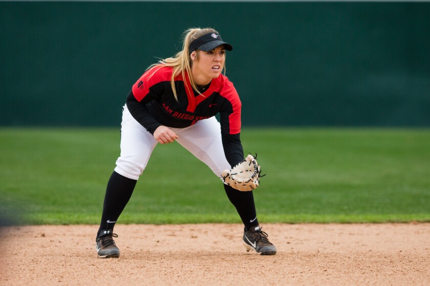 SOFTBALL: San Diego State v Middle Tennessee
