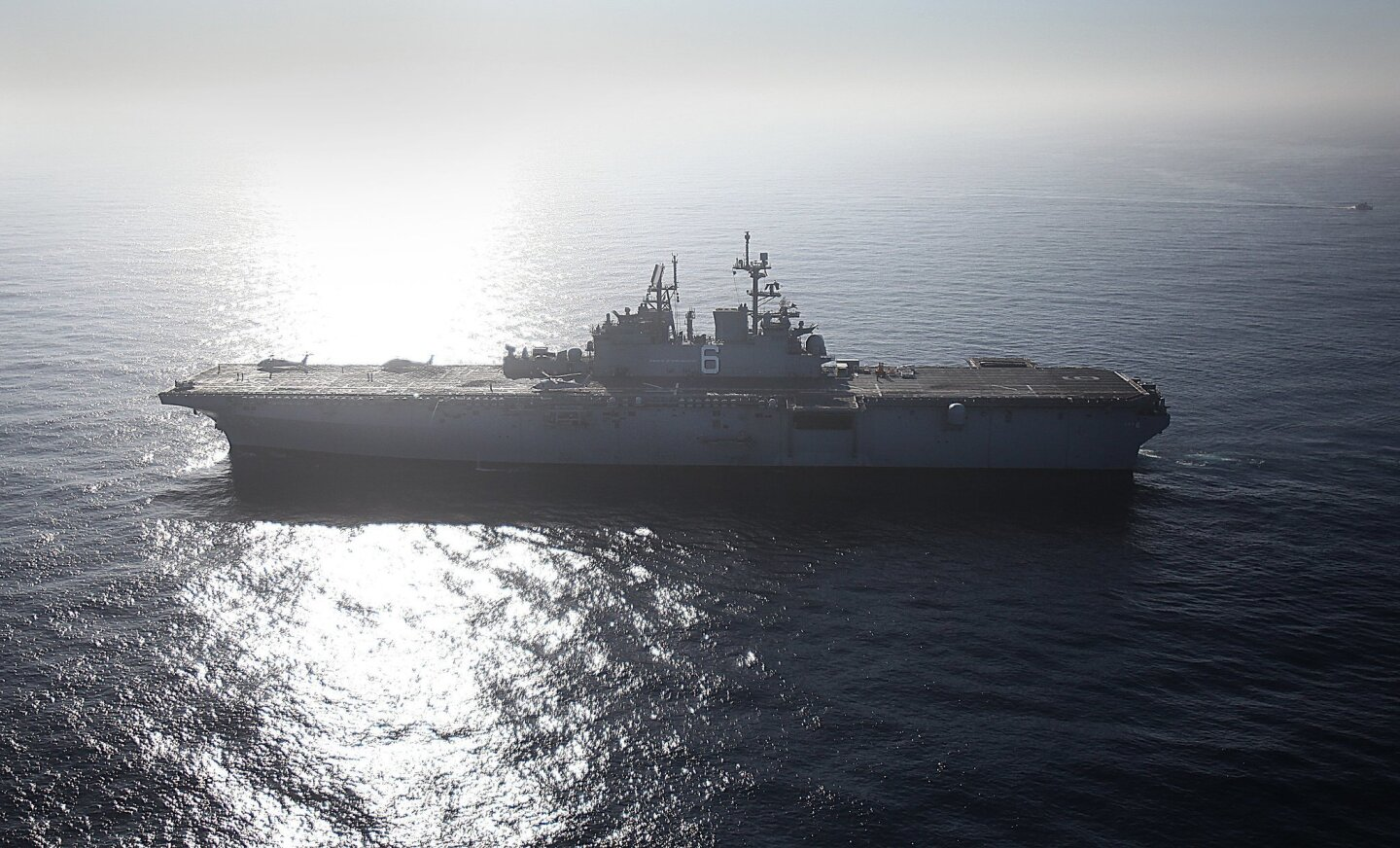 USS America makes San Diego home