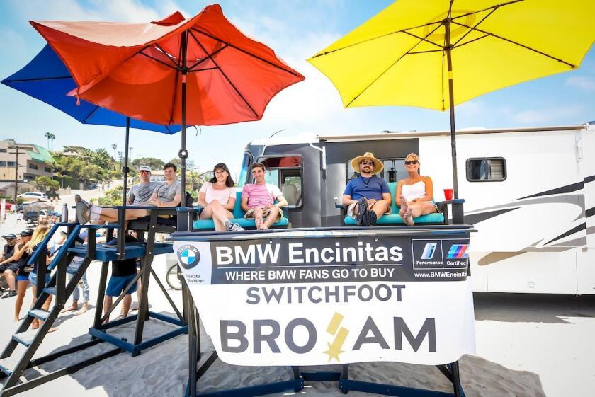 BMW Encinitas sponsors the annual Switchfoot Bro-Am music and surf charity event in Encinitas.