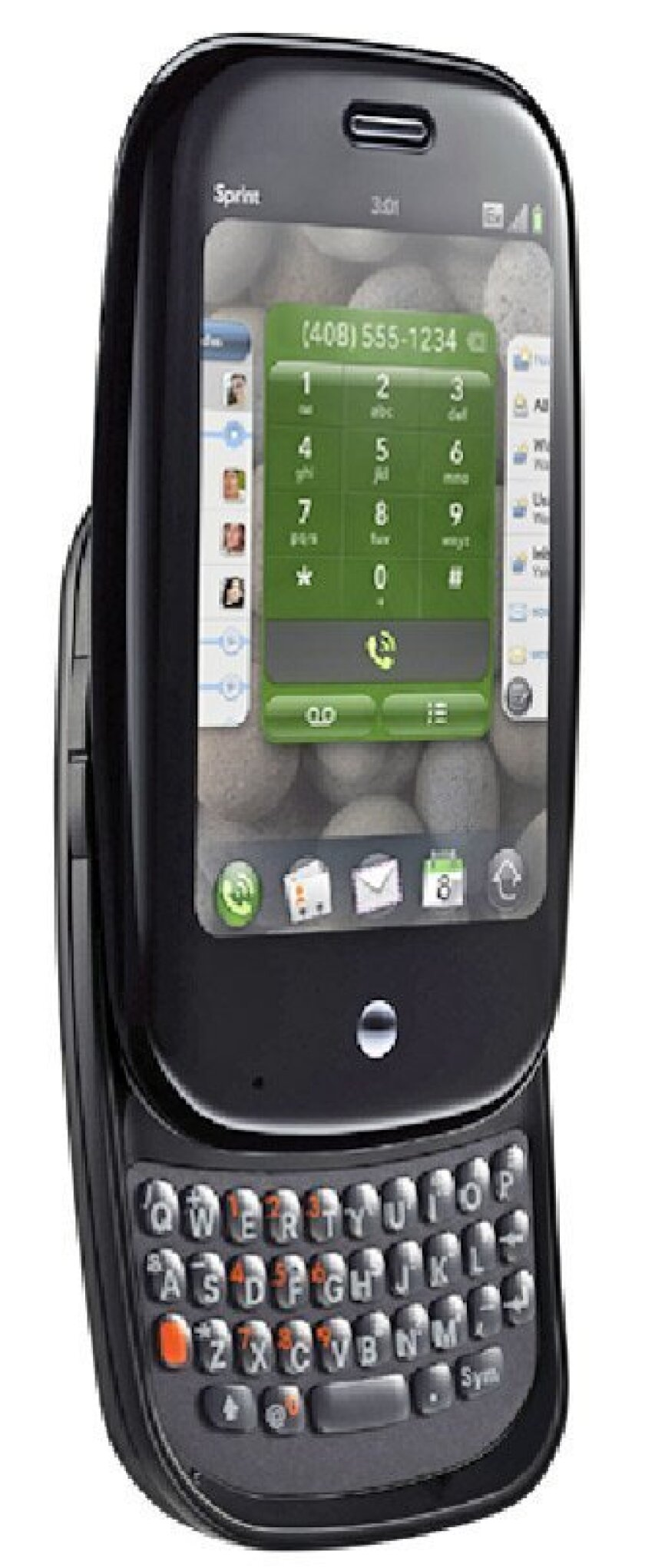 The Pre smart phone from Palm. (New York Times)