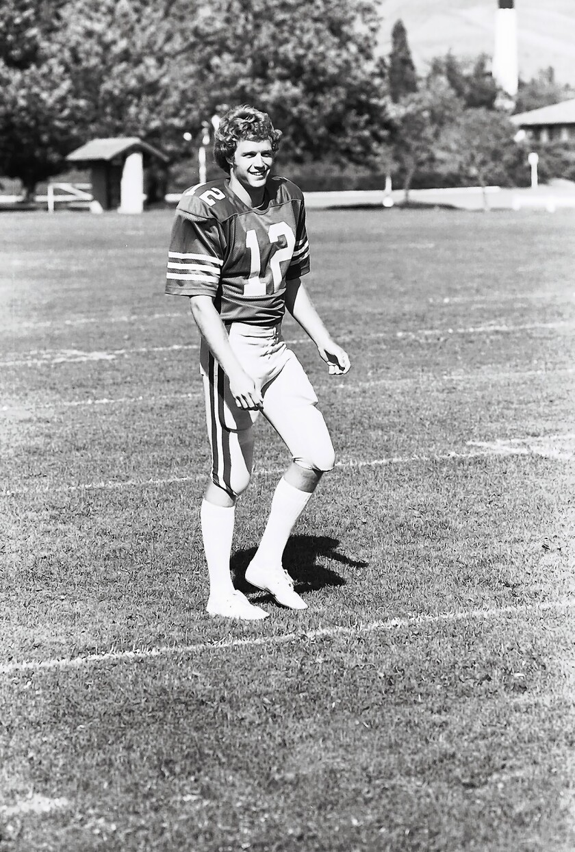 Joe Roth was a star quarterback for Cal. His life was cut short because of melanoma.