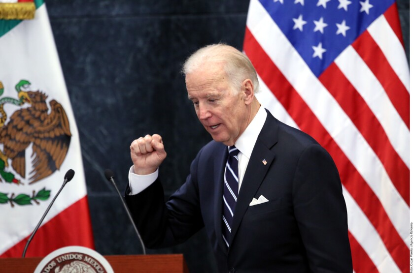 El Vicepresidente de Estados Unidos, Joe Biden, dijo que los comentarios durante las campañas presidenciales en EU, hacia los mexicanos, no representan la opinión de todos los norteamericanos.