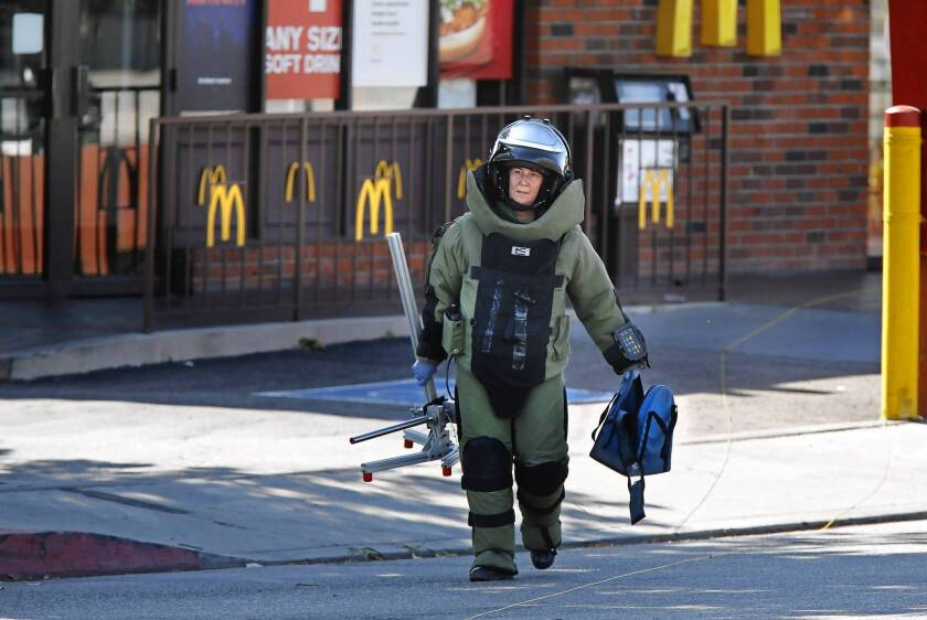 Surge in bomb squad calls, 'suspicious packages' since Boston