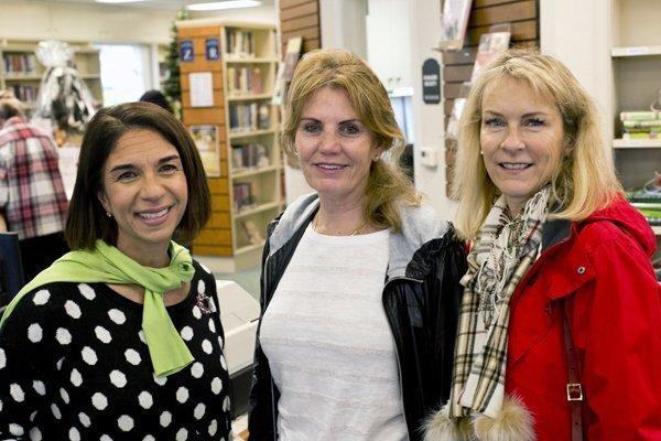 Susan Appleby, Suzie Luban, Carol Jensen