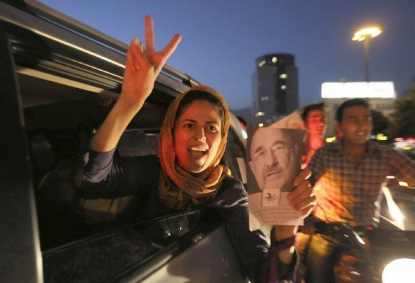 Iranians' desire for change fueled presidential upset