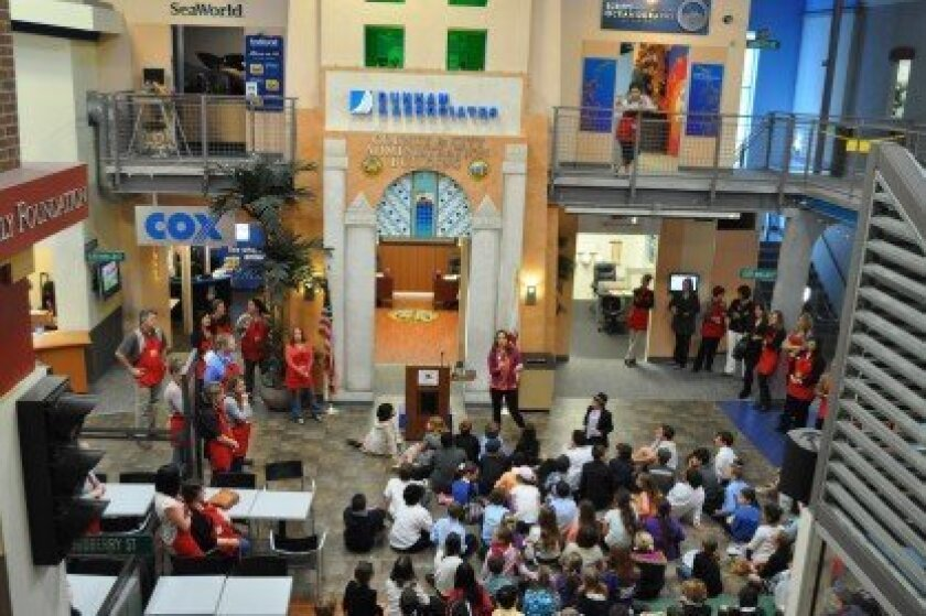 About 150 schools throughout San Diego County participate in JA BizTown each year. Courtesy photos