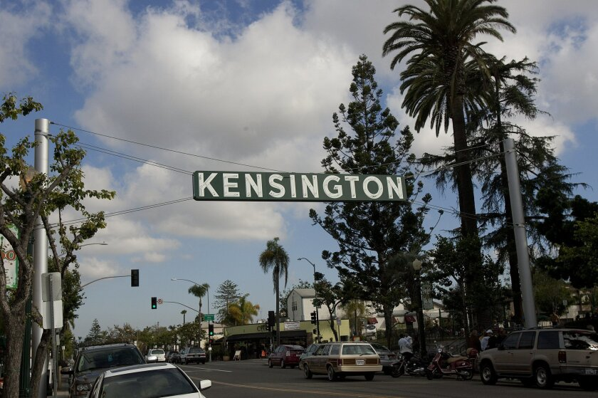The Kensington street signs
