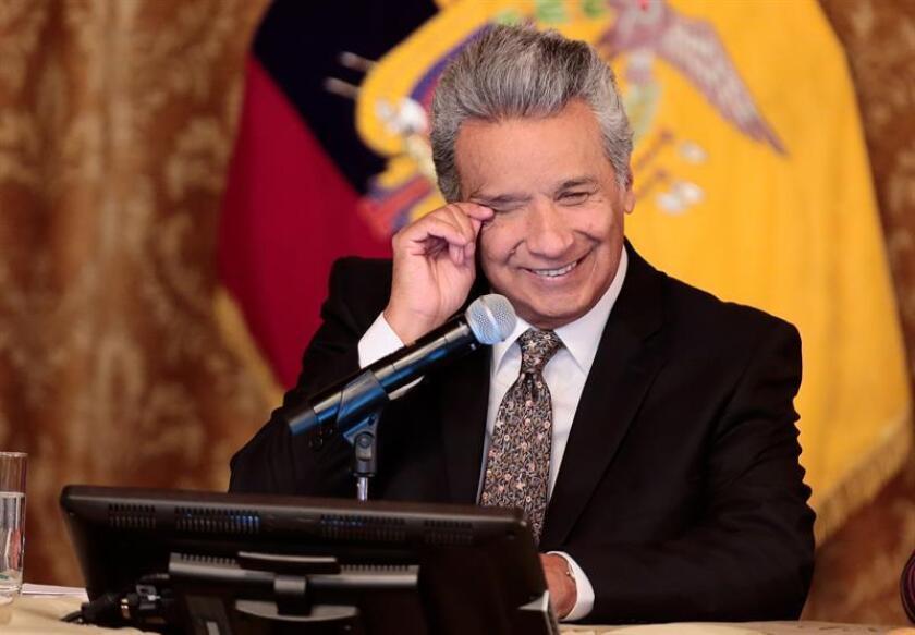 Lenin Moreno, presidente de Ecuador. EFE/Archivo