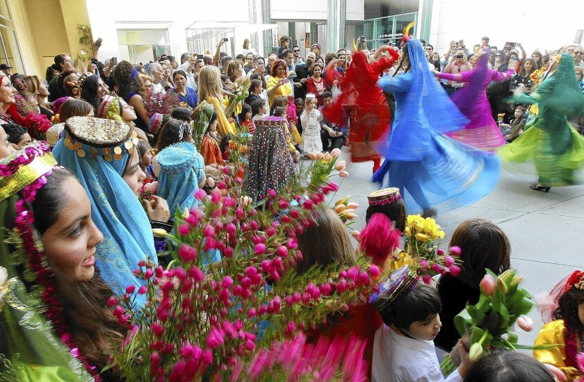 Iranian Americans unite, share culture for New Year celebration