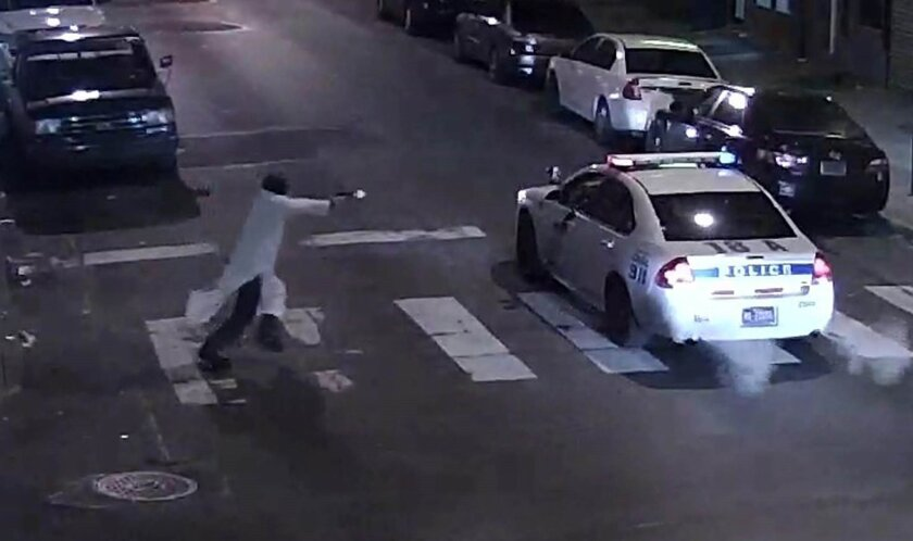 Gunman who ambushed Philadelphia cop pledged allegiance to Islamic State, authorities say