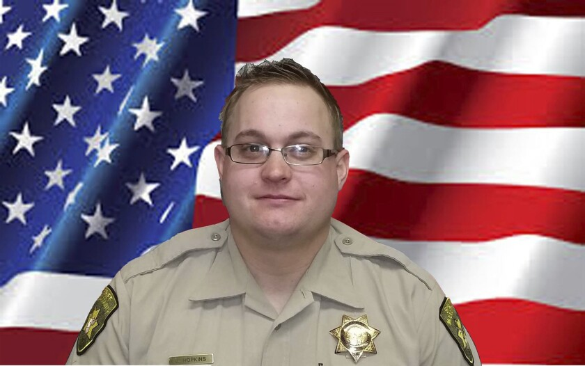 Modoc County Sheriff's Deputy Jack Hopkins, 31, was shot to death Wednesday while responding to a disturbance call.