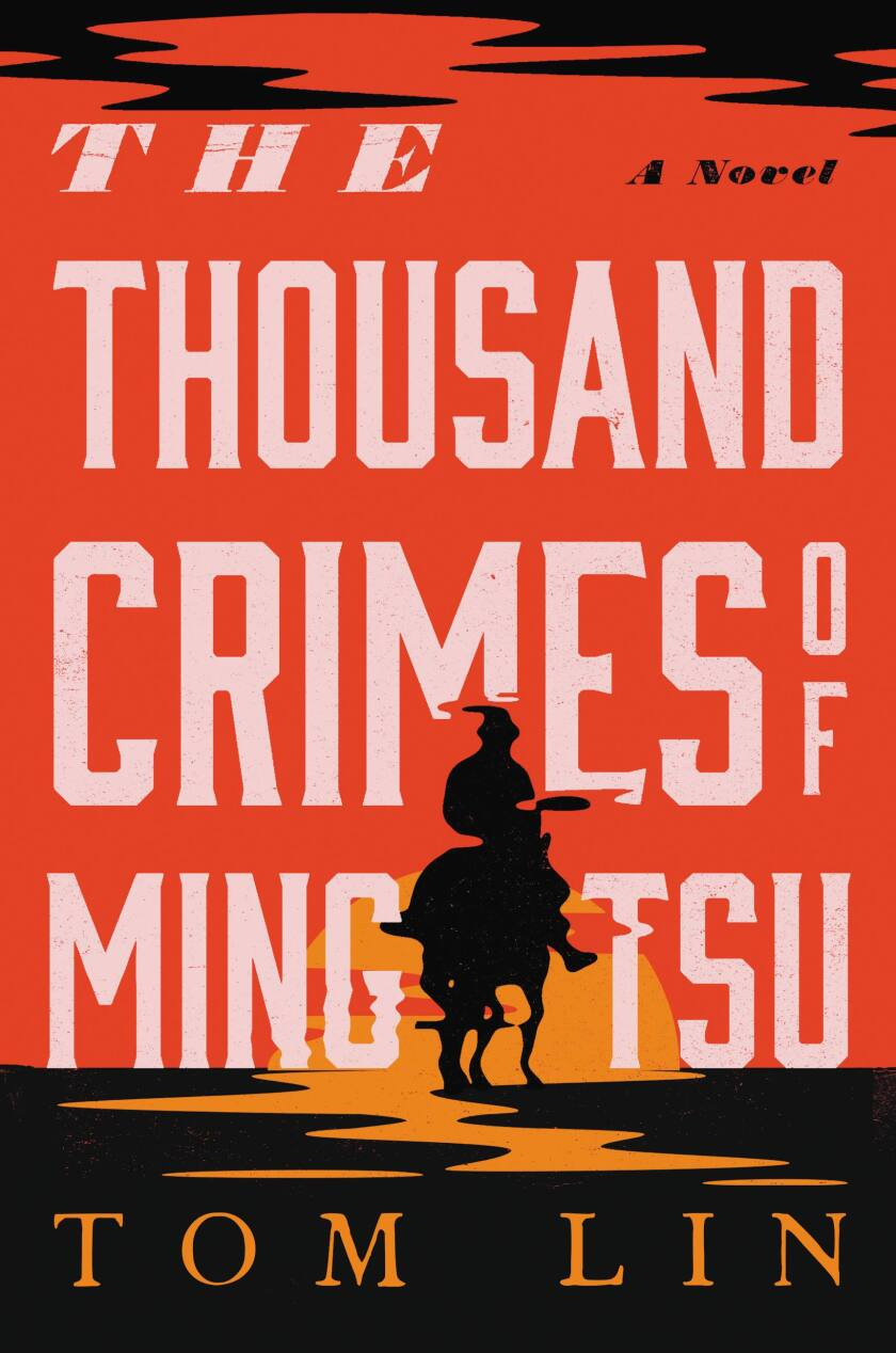 """The cover of the book """"The Thousand Crimes of Ming Tsu,"""" by Tom Lin"""