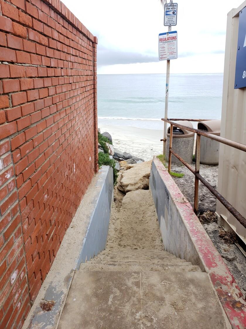 La Jolla coastal overlook sea lane