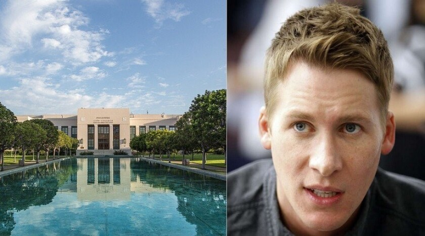 Pasadena City College and Dustin Lance Black