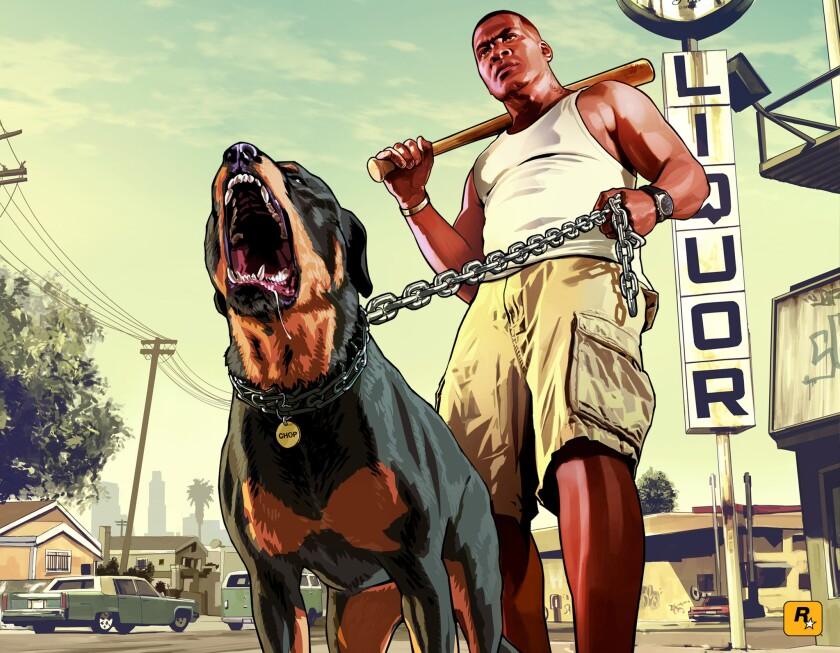 'Grand Theft Auto V' spurs industry sales