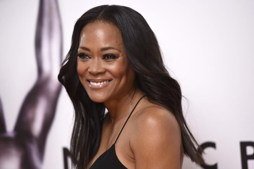 Robin Givens arrives at the 47th NAACP Image Awards in Pasadena.