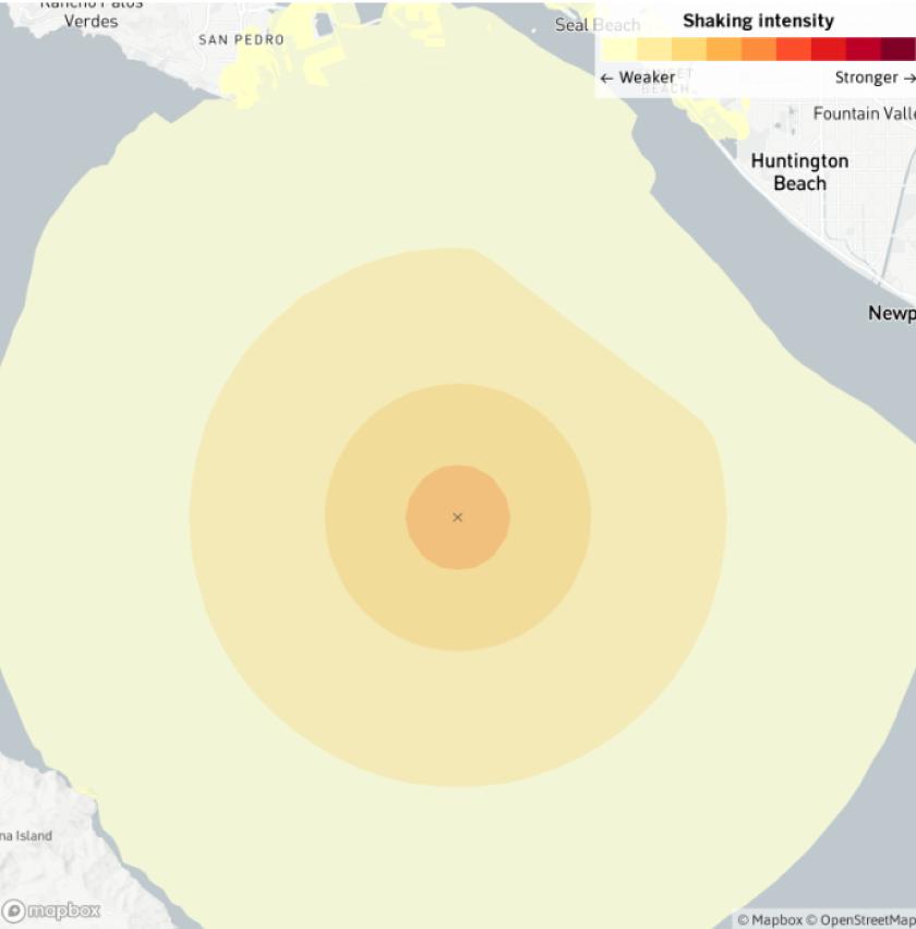 3.5 earthquake near Huntington Beach
