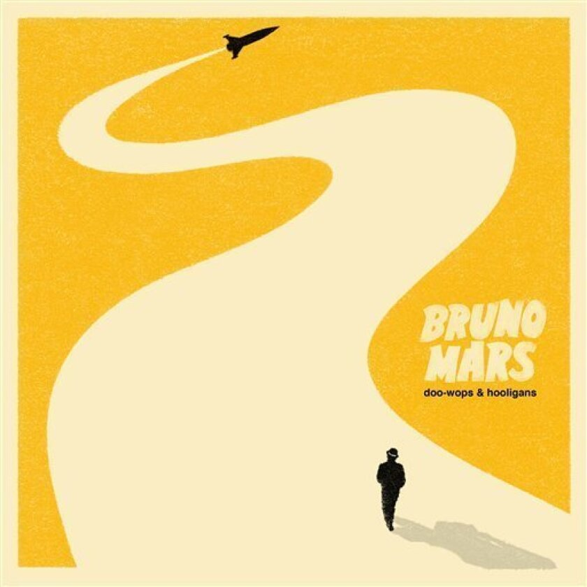 "In this CD cover image released by Elektra records, the latest by Bruno Mars, ""Doo-Wops & Hooligans"" is shown. (AP Photo/Elektra)"
