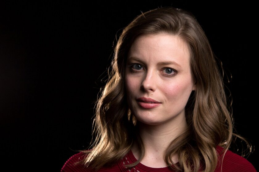 """In this Feb. 4, 2016 photo, Gillian Jacobs poses for a portrait in promotion of her upcoming Netflix series """"Love"""" in New York. The show premieres on Friday, Feb. 19. (Photo by Amy Sussman/Invision/AP)"""