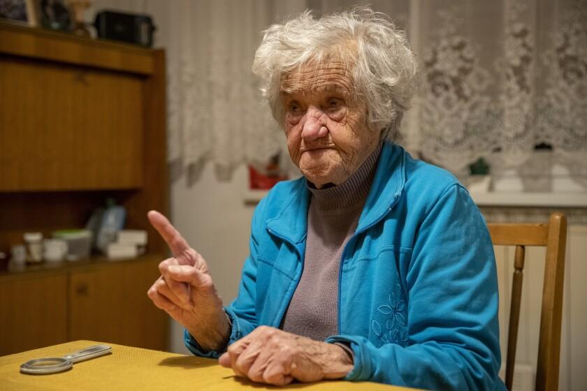 Slovenia Holocaust Survivor