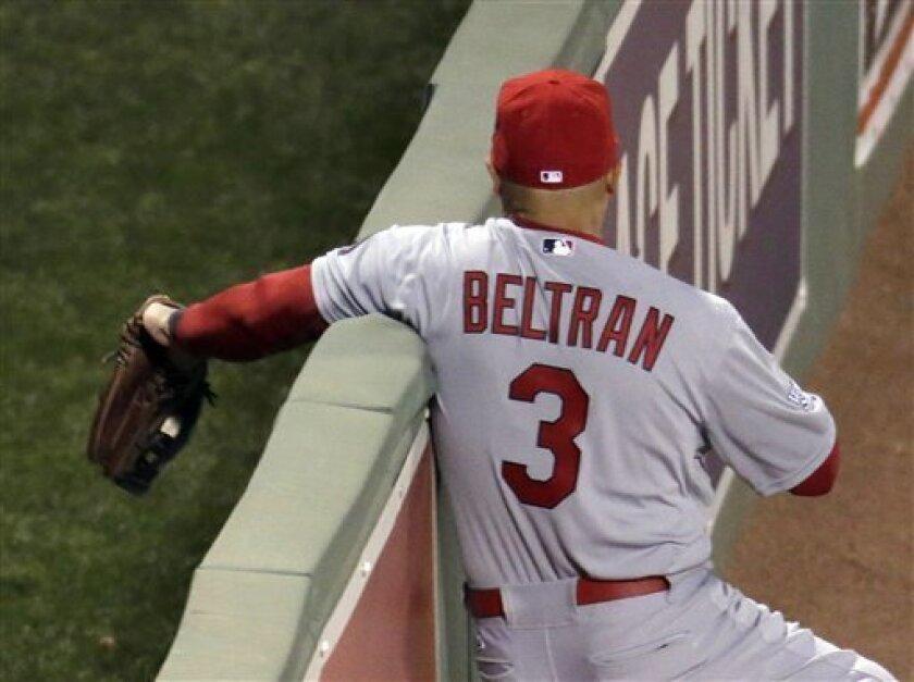Key Injury Beltran Saves Grand Slam Leaves Game The San