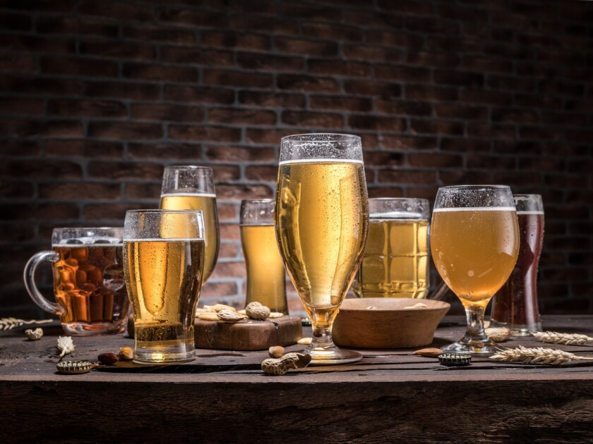 ales and lagers