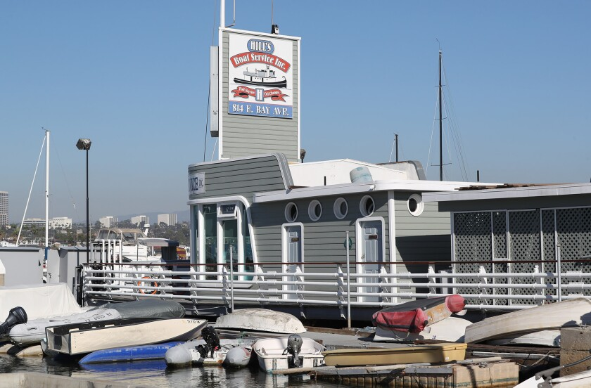 Hill's Boat Service, a family owned business in Newport Harbor, has filed a lawsuit against Amplify Energy Corp.
