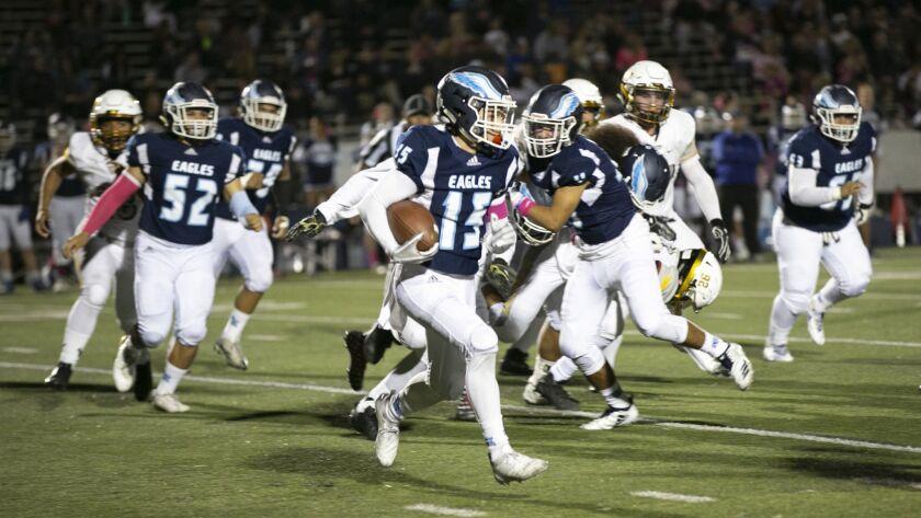 High School Football El Capitan @ Granite Hills