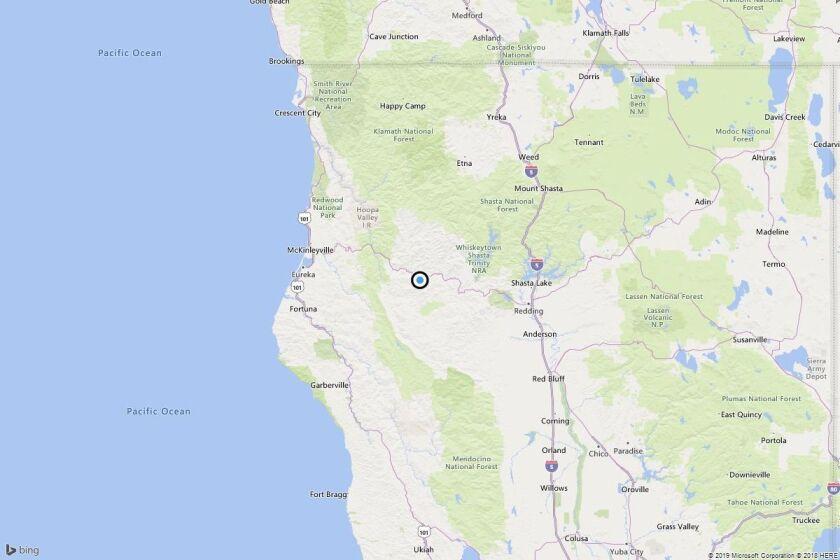 Earthquake: 3.0 quake strikes near Junction City, Calif.