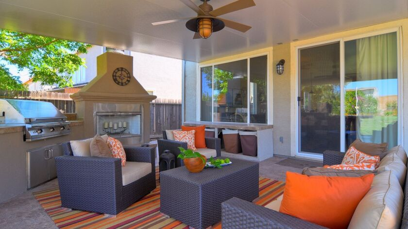 Outdoor living spaces add tremendous appeal to a property.