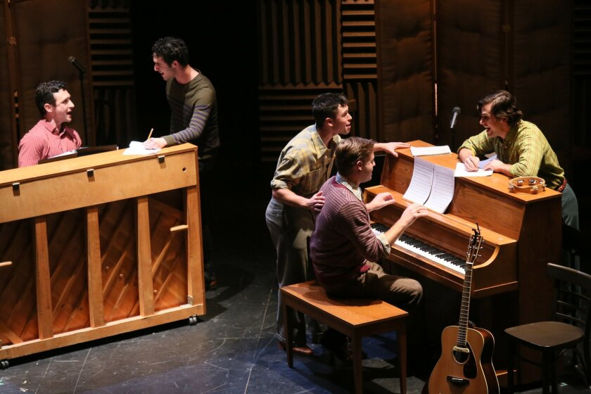 "The musical ""Chasing the Song"" had its first public read-through as part of La Jolla Playhouse's DNA New Work Series earlier this year. It returns to the theater in 2014 as a more fleshed-out Page to Stage production."