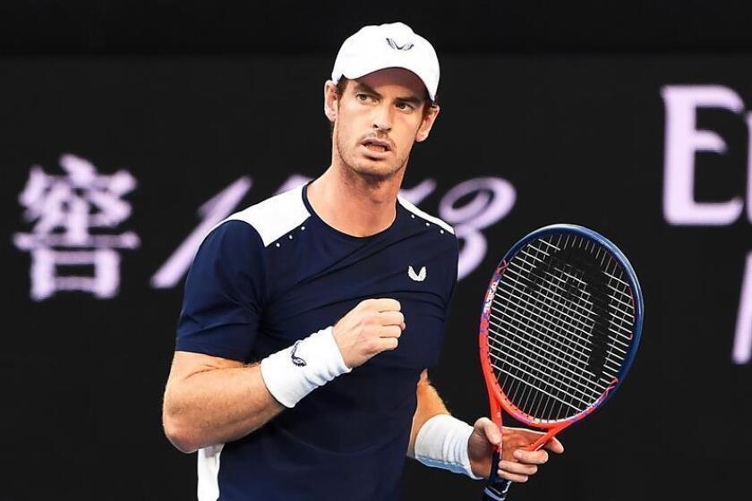 El tenista británico Andy Murray. EFE/Archivo