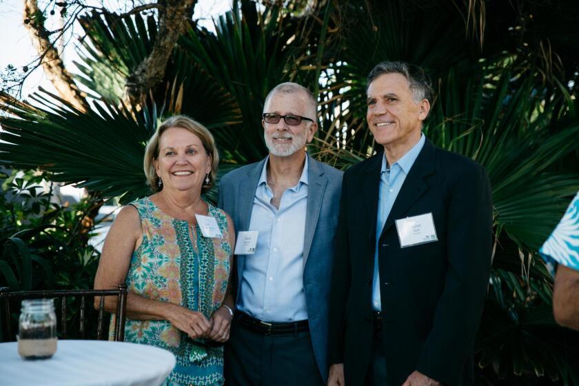 Ann Welborn (board member), David Welborn (chairman), Byron Swift (president)