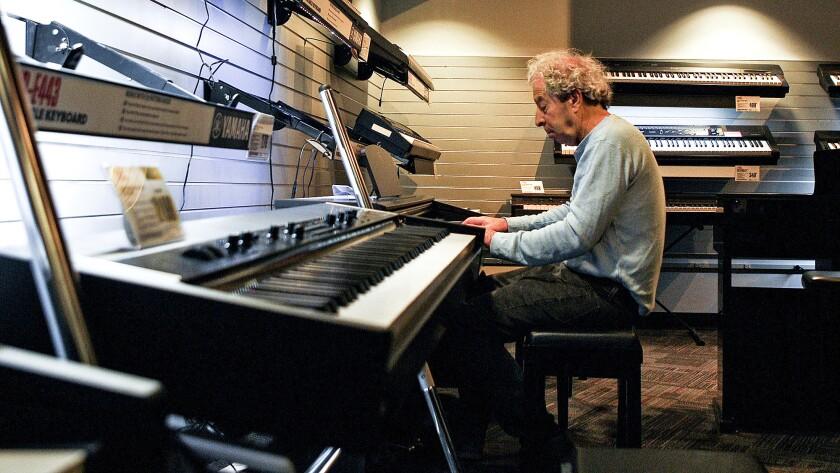 Piano at Guitar Center