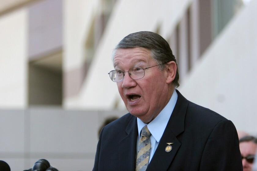 """Former Rep. Randy """"Duke"""" Cunningham."""