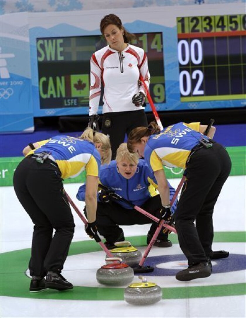Anette Norberg inside the rings: curling? shoot me now - the san diego